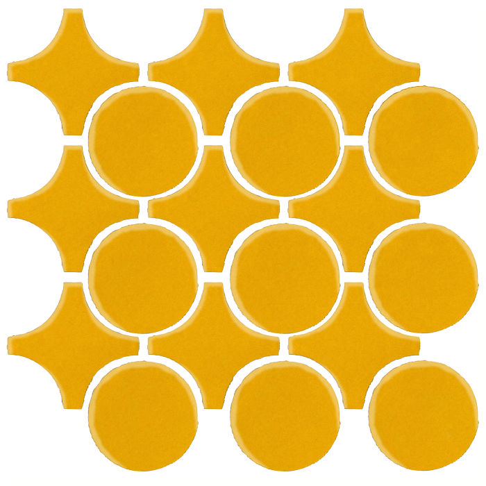 Studio Field Arabesque Pattern 9A Sunflower 1225c