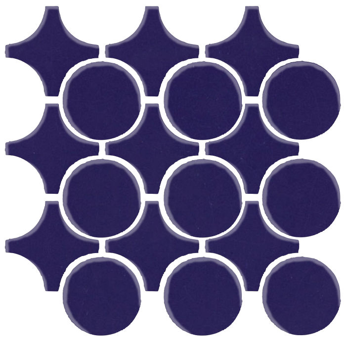 Studio Field Arabesque Pattern 9A Ultramarine 2758c