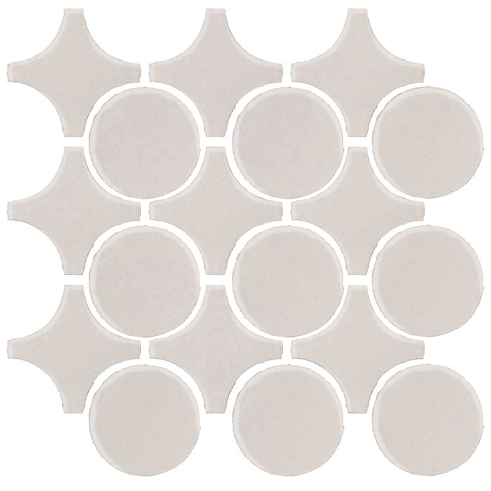 Studio Field Arabesque Pattern 9A Pure White