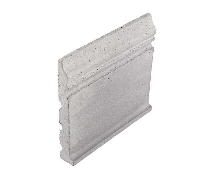 Studio Field Base Moulding with Cove Great White