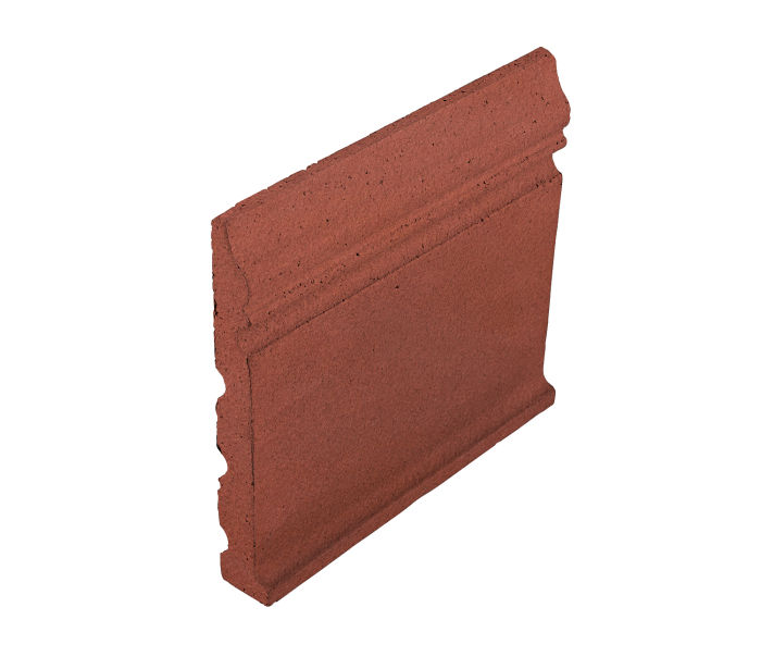 Studio Field Base Moulding with Cove Monrovia Red