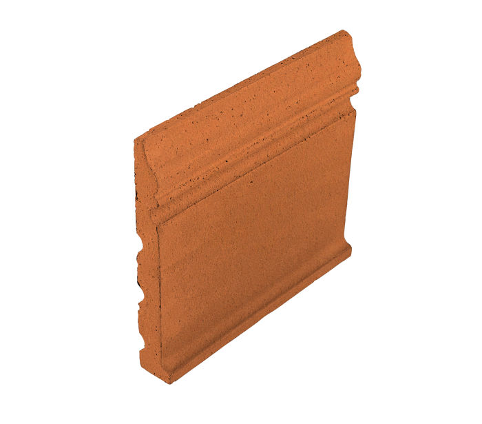 Studio Field Base Moulding with Cove Pottery Brown 470u