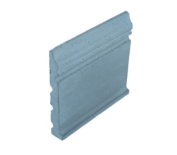 Studio Field Base Moulding with Cove Turquoise