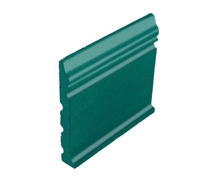 Studio Field Base Moulding with Cove Viridian 7721c