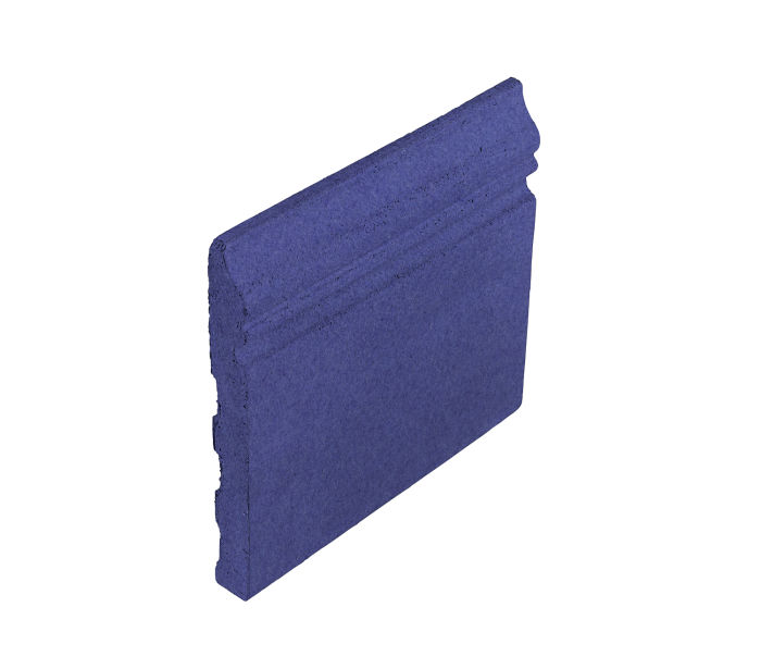 Studio Field Base Moulding Blue Satin 7684u