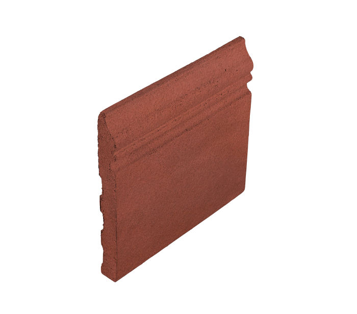 Studio Field Base Moulding Monrovia Red