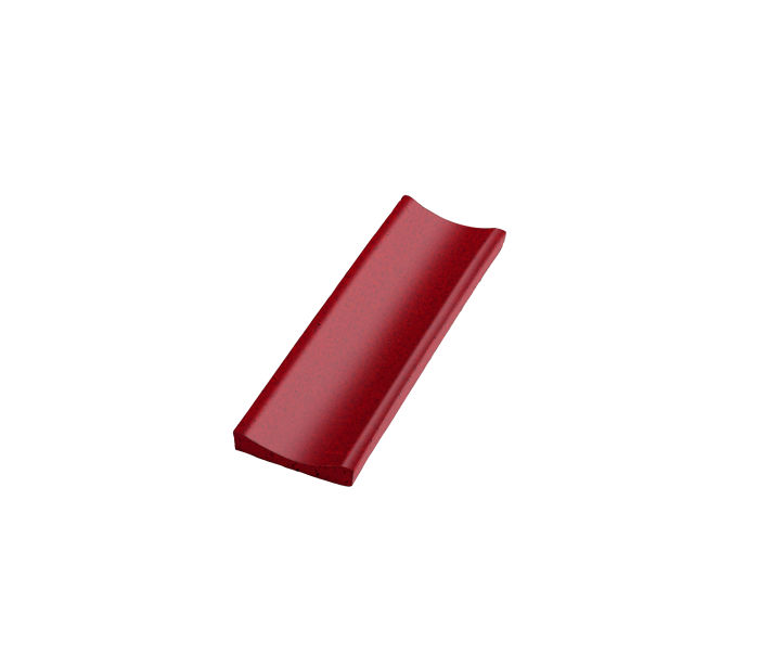 Studio Field Concaved Moulding Cadmium Red 202c