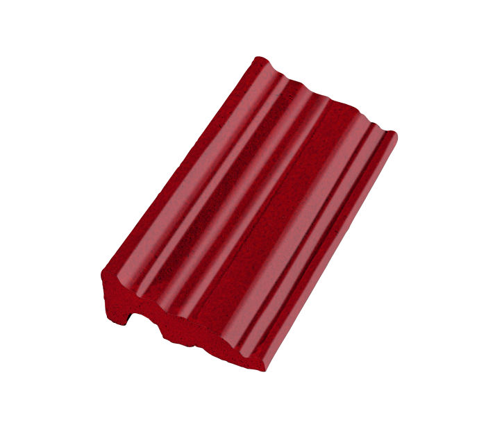 Studio Field Cornice Moulding Cadmium Red 202c