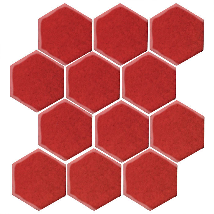 4x4 Studio Field Hexagon Apple Valley Red