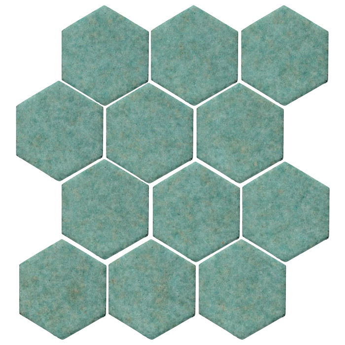 4x4 Studio Field Hexagon Aqua 5503u
