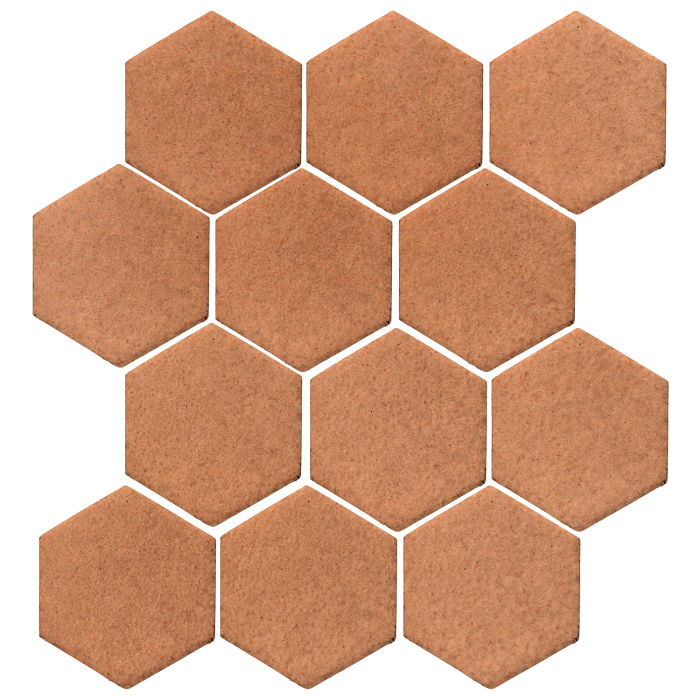 4x4 Studio Field Hexagon Beechnut