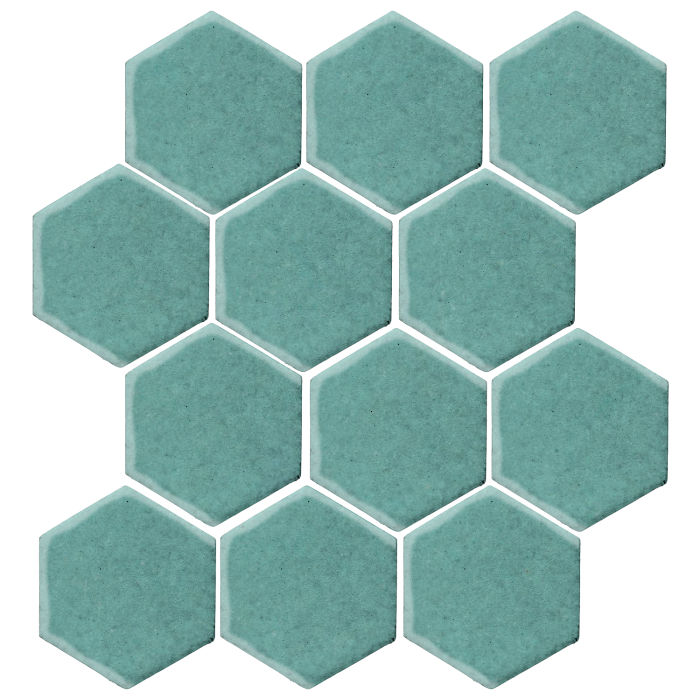 4x4 Studio Field Hexagon Blue Haze 7458c