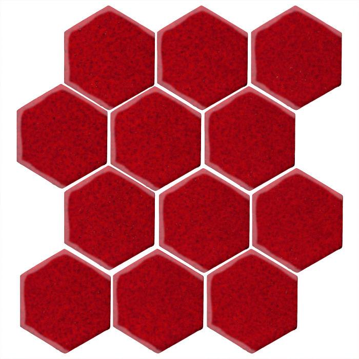 4x4 Studio Field Hexagon Cadmium Red 202c