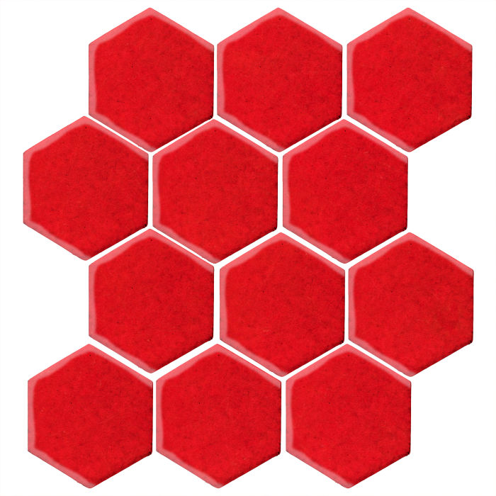 4x4 Studio Field Hexagon Cherry Tomato 7621c
