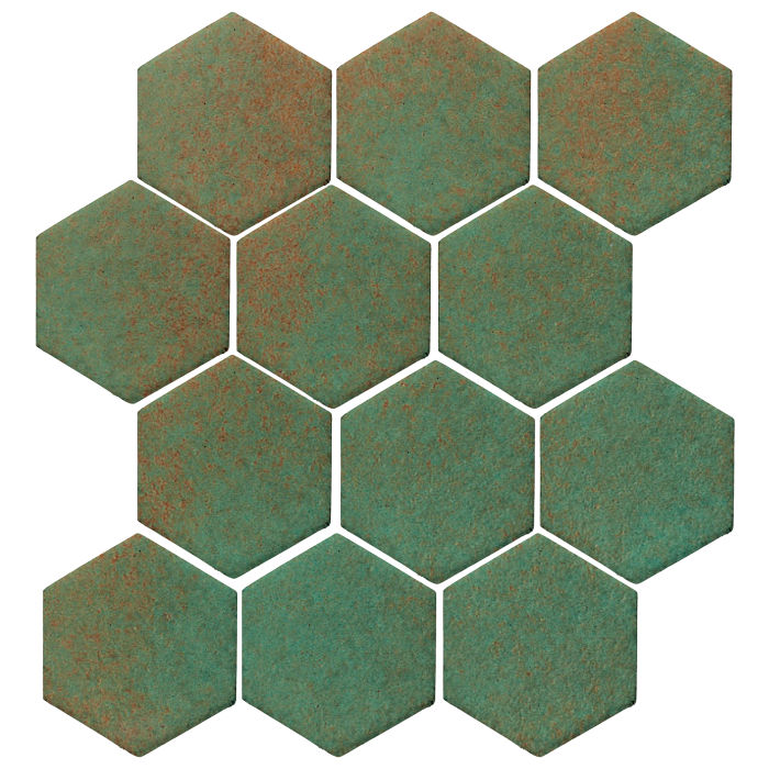 4x4 Studio Field Hexagon Copper