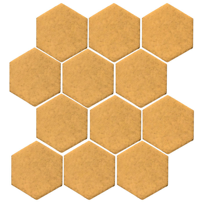 4x4 Studio Field Hexagon Custard 7403u