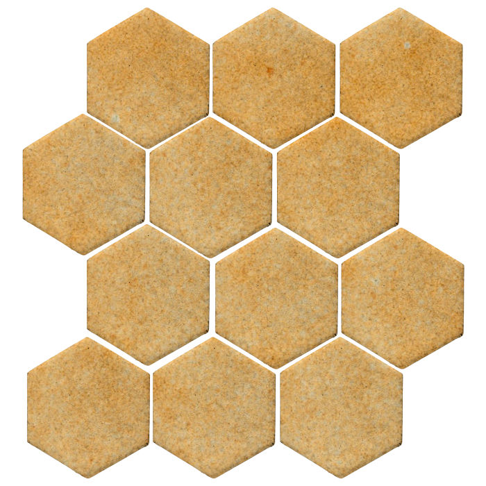 4x4 Studio Field Hexagon Deli Mustard 7551u