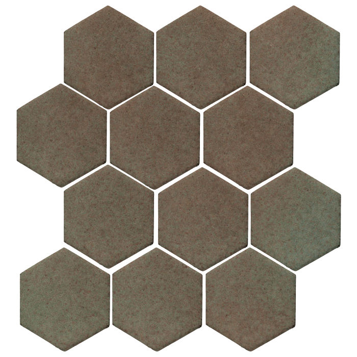 4x4 Studio Field Hexagon Elder Green