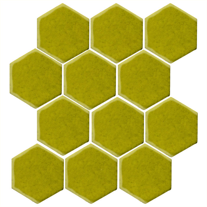 4x4 Studio Field Hexagon Guacamole 7495c