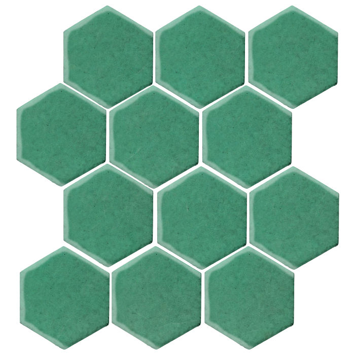 4x4 Studio Field Hexagon Kale 7723c