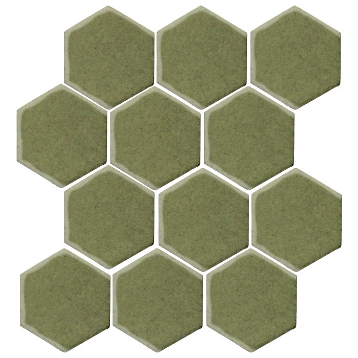 4x4 Studio Field Hexagon Kelp 5615c
