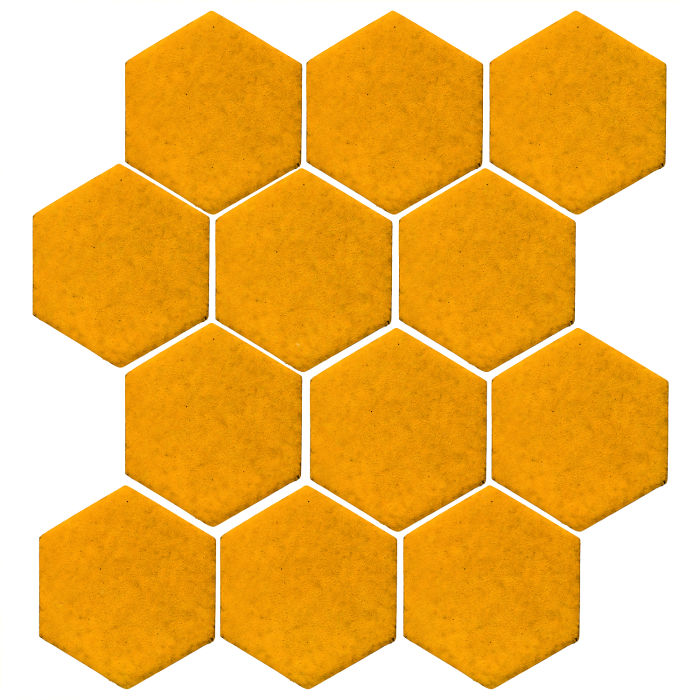 4x4 Studio Field Hexagon Mandarin 129u