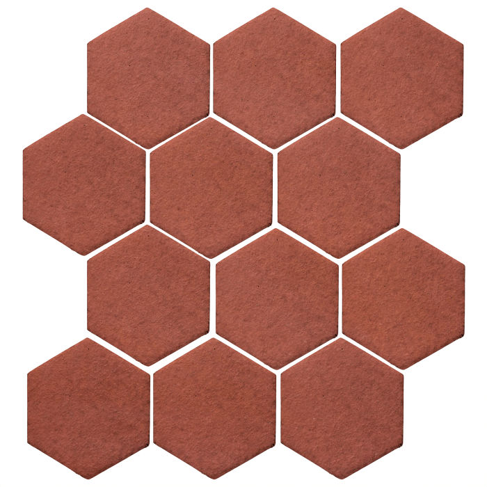 4x4 Studio Field Hexagon Monrovia Red