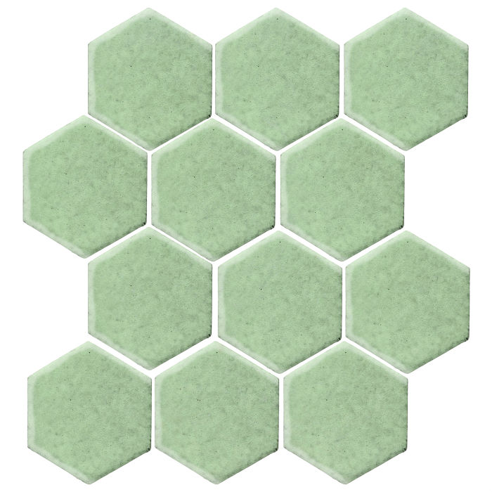 4x4 Studio Field Hexagon Peppermint