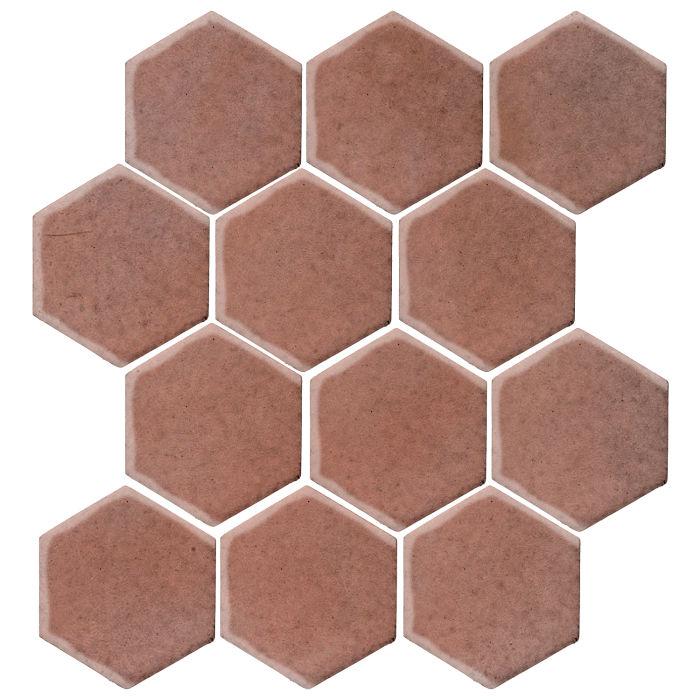 4x4 Studio Field Hexagon Plum 5115c