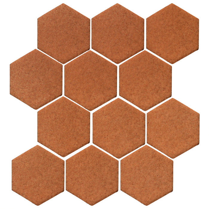 4x4 Studio Field Hexagon Red Iron