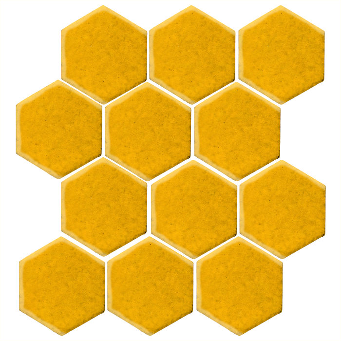 4x4 Studio Field Hexagon Sunflower 1225c