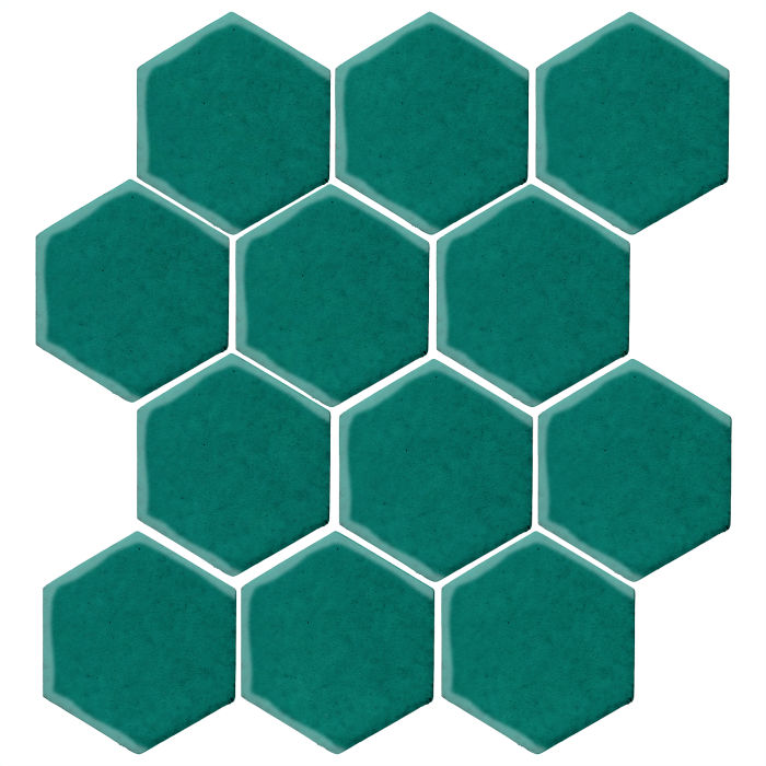4x4 Studio Field Hexagon Viridian 7721c