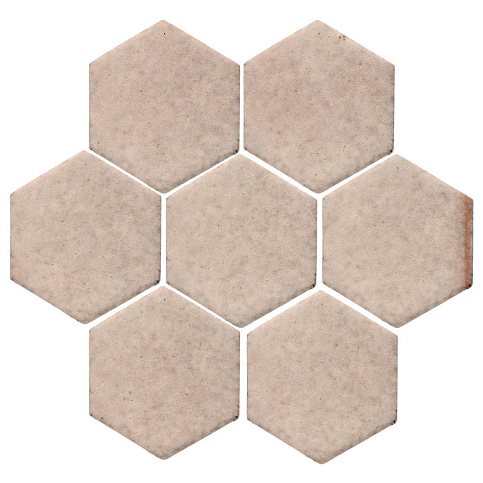6x6 Studio Field Hexagon Alabaster CG1u