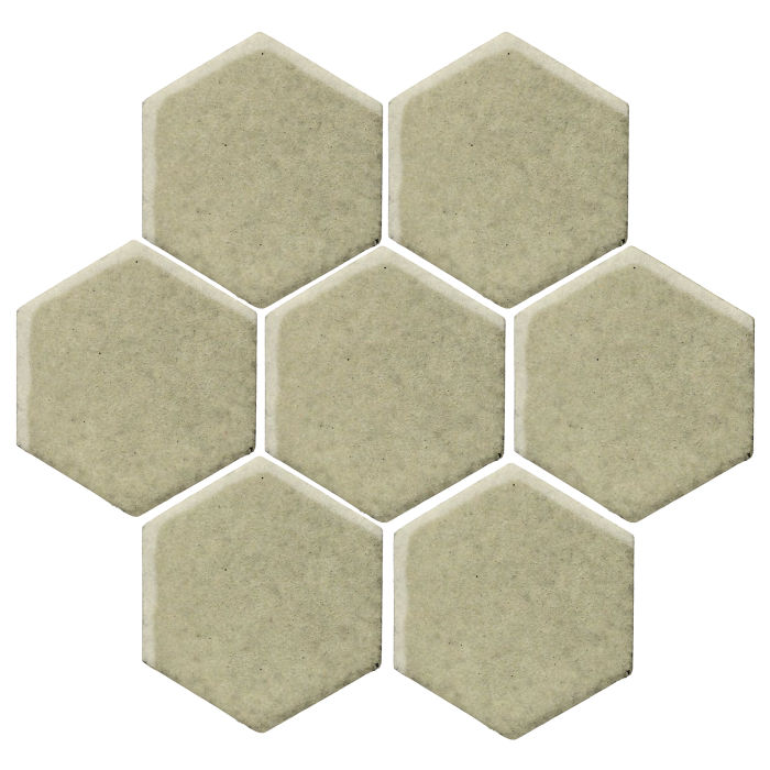 6x6 Studio Field Hexagon Aloe Vera 5645c