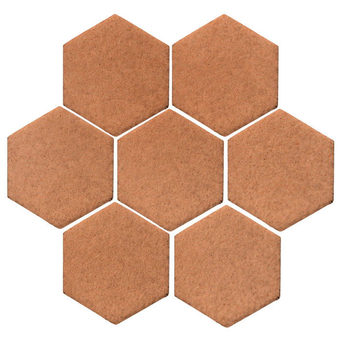 6x6 Studio Field Hexagon Beechnut