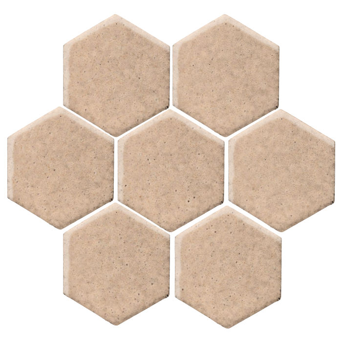6x6 Studio Field Hexagon Beach Sand WG1c