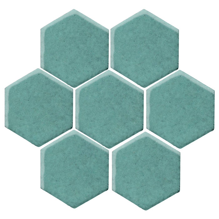6x6 Studio Field Hexagon Blue Haze 7458c
