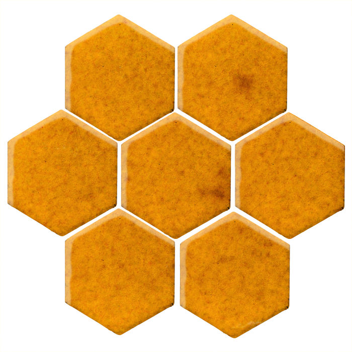 6x6 Studio Field Hexagon Cadmium Yellow