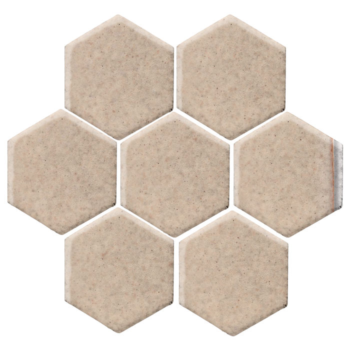 6x6 Studio Field Hexagon Champagne 482c
