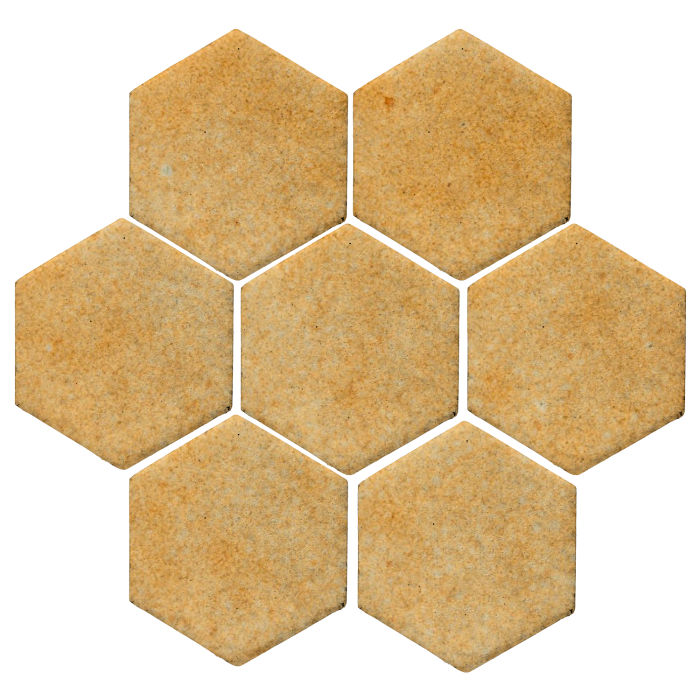 6x6 Studio Field Hexagon Deli Mustard 7551u