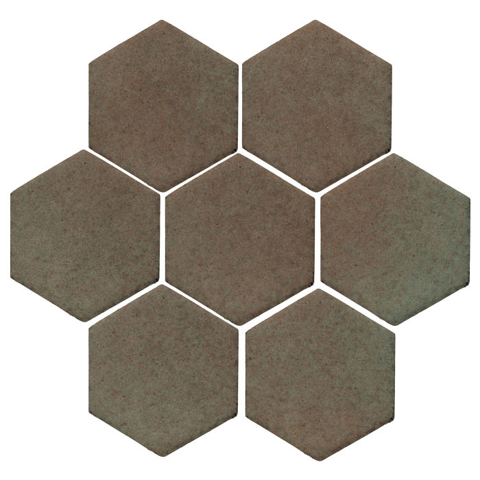 6x6 Studio Field Hexagon Elder Green