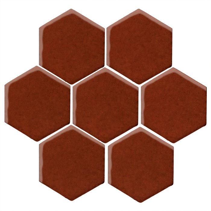 6x6 Studio Field Hexagon Espresso 478c