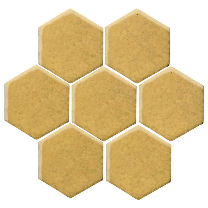 6x6 Studio Field Hexagon Gold Rush