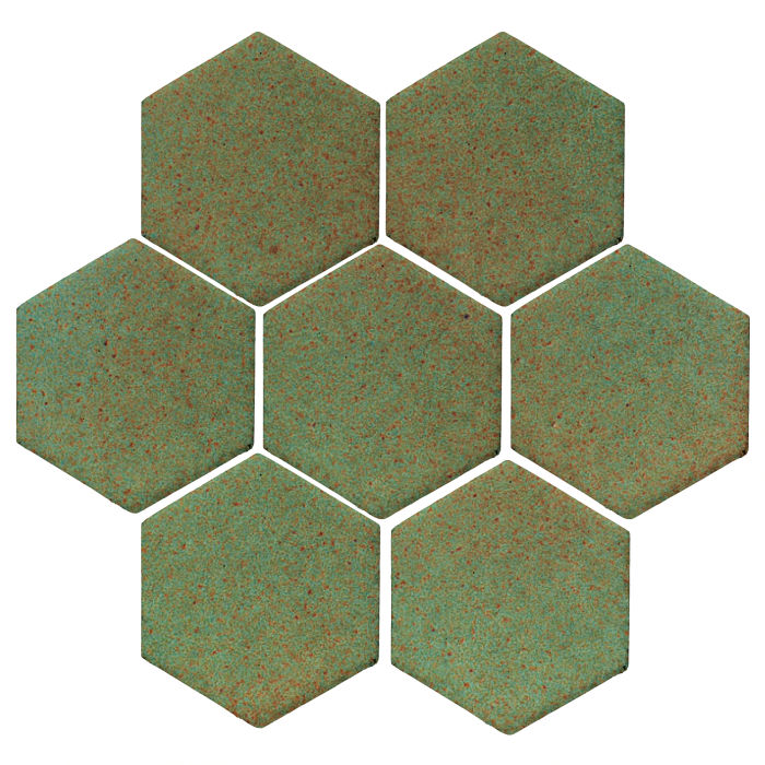 6x6 Studio Field Hexagon Light Copper