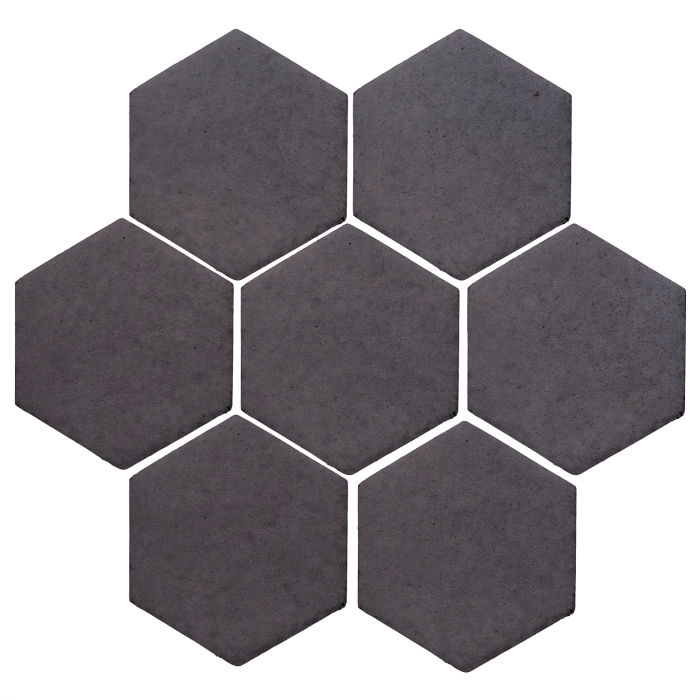 6x6 Studio Field Hexagon May Gray