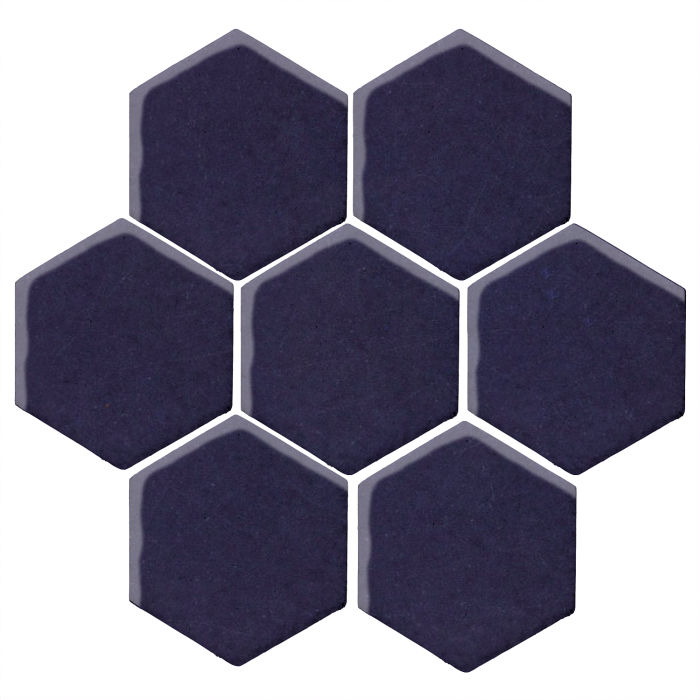 6x6 Studio Field Hexagon Midnight Blue 2965c