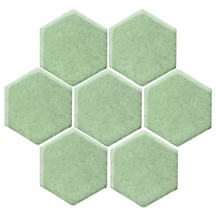 6x6 Studio Field Hexagon Peppermint
