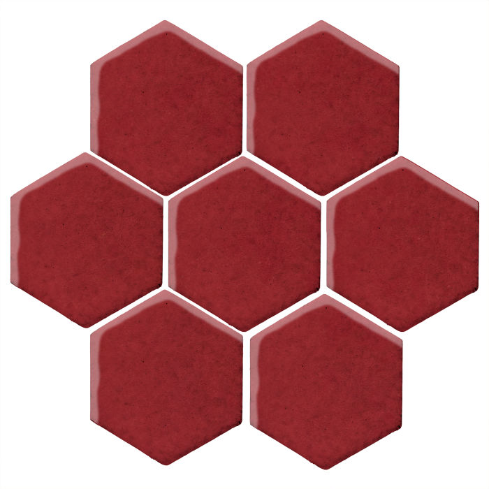 6x6 Studio Field Hexagon Pinot Noir 7642c