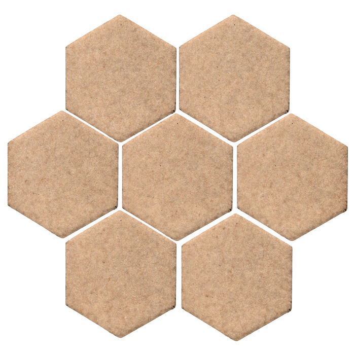 6x6 Studio Field Hexagon Shiitake 466u