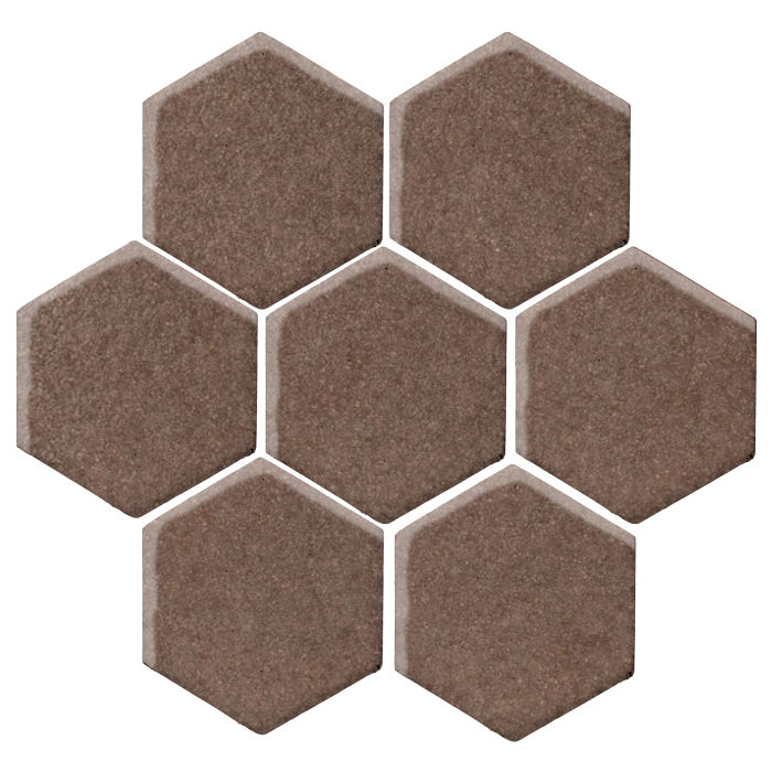 6x6 Studio Field Hexagon Suede 405c